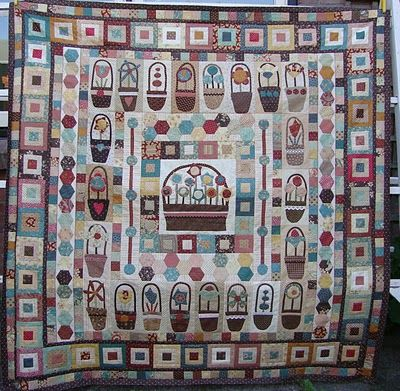 Pocket Of Posies Quilt Pattern.Pocket Of Posies Another Picture Quilts To Make Basket