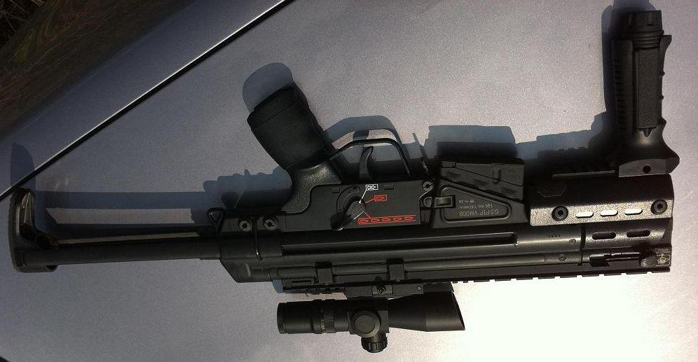 TM G3 SAS DMR | Airsoft | Airsoft, Mp5, Guns