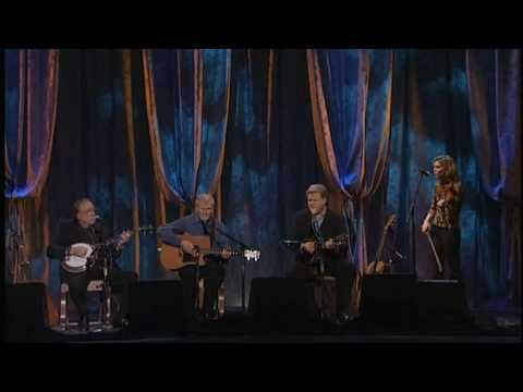 "Doc Watson,, Ricky Scaggs and Allison Krauss...."" The Banks Of The Ohio"" HD"