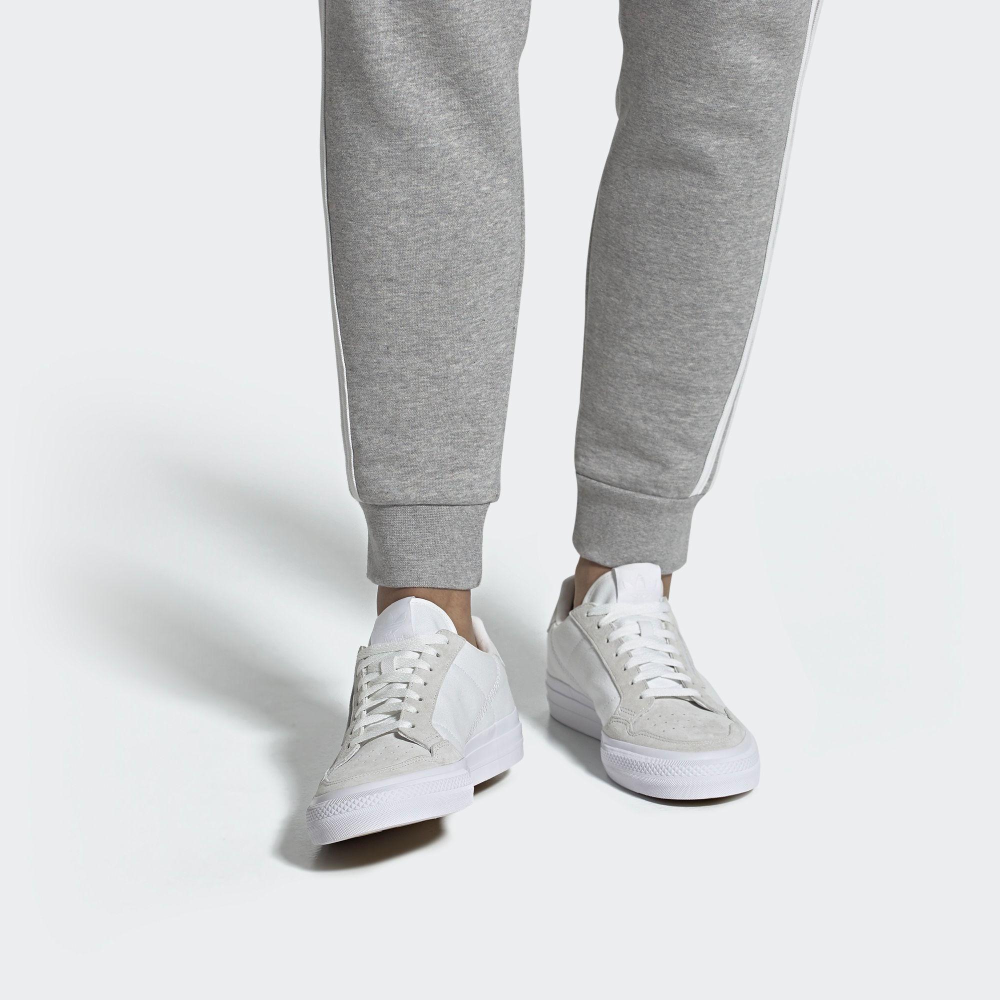 ADIDAS ORIGINALS Sneaker 'Continental Vulc' Damen, Creme ...