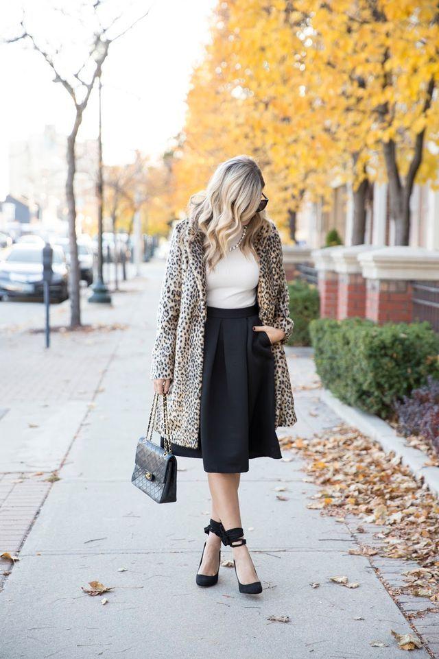 Leopard Topper