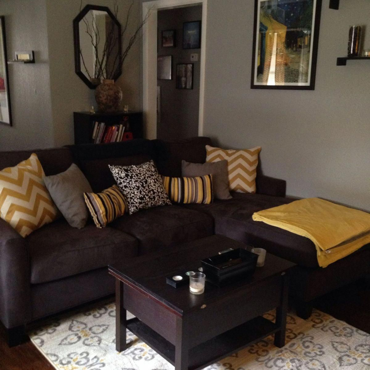 living room colors with brown couch ideas 6 on small laundry room paint ideas with brown furniture colors id=52907