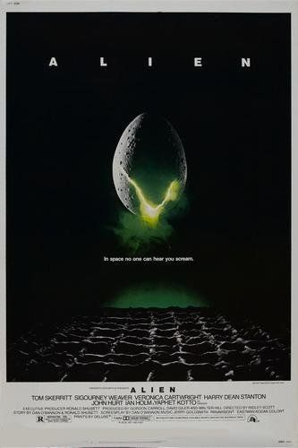 I Saw This Movie The Night Before My First Parachute Jump At Fort Benning Now The Screenplay For My Area 51 Series Alien Movie Poster Aliens Movie Alien 1979