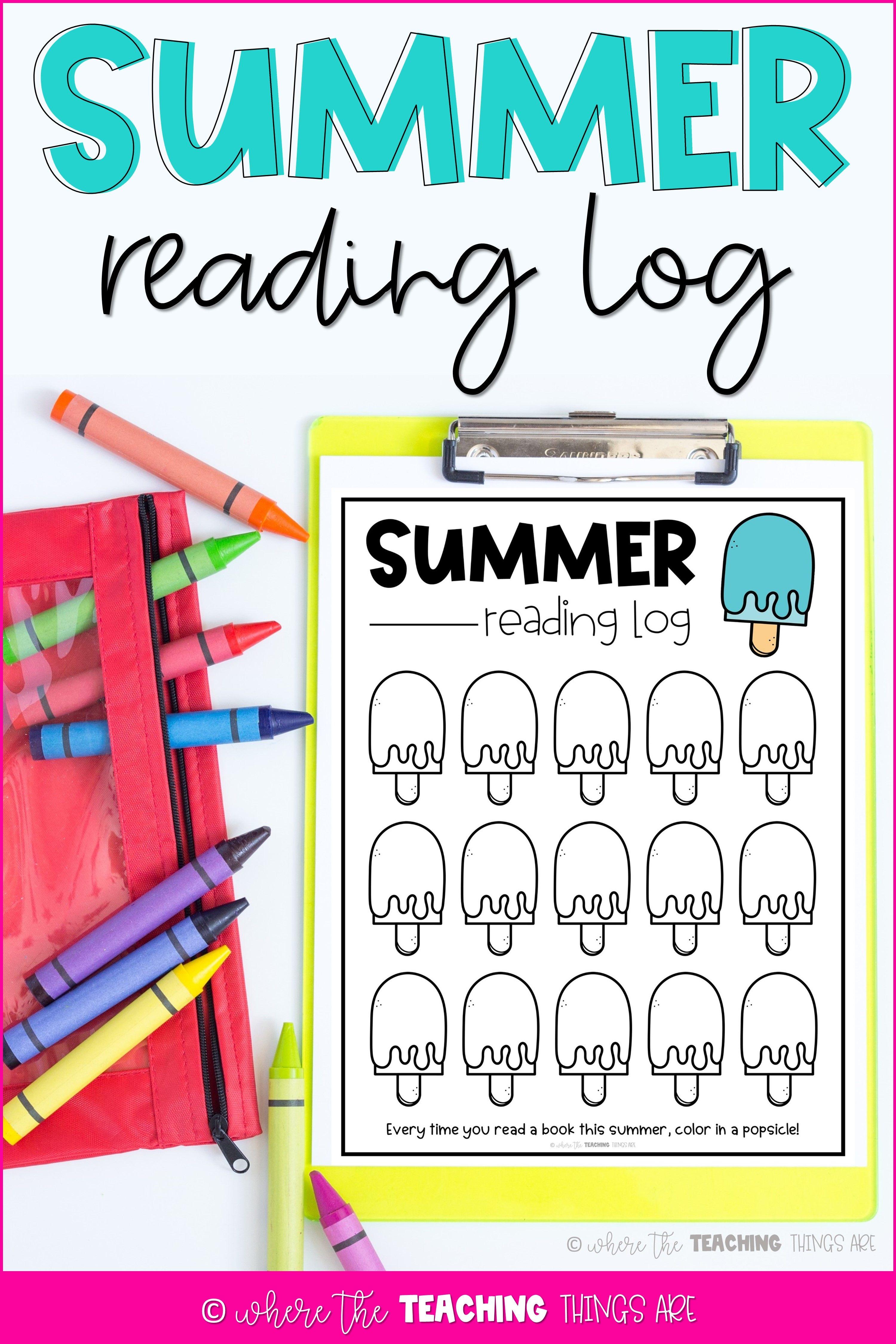 Summer Reading Log In 2021 Elementary Reading Activities Summer Reading Log Reading Log [ 4500 x 3000 Pixel ]