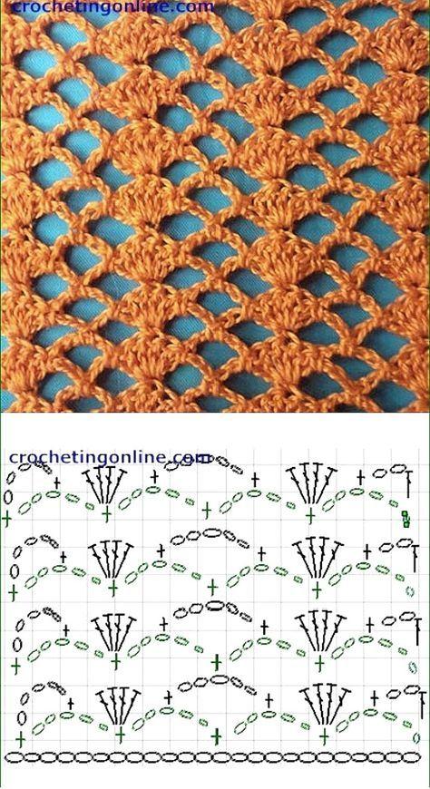 Crohet Lace Pattern Pontos De Croche Croche Graficos Modelos De Croche,Saltwater Fish List
