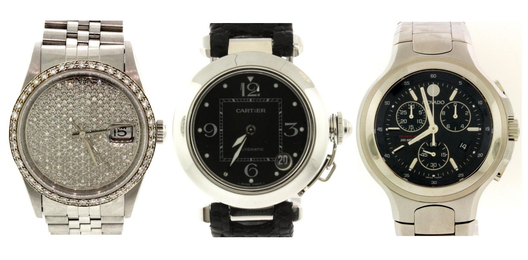 Just in: Rolex, Cartier & MovadoWear luxury for a fraction of the retail price! Bid now: http://prrm.ws/1CBdjq7