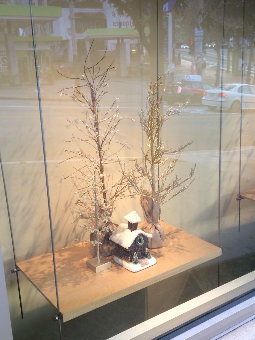 Seasonal sights window display SF Market St curb appeal