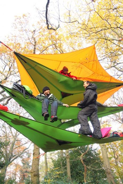 Multi-Story Treehouse Tents Are a Quirky Way to C& & Multi-Story Treehouse Tents Are a Quirky Way to Camp | General ...