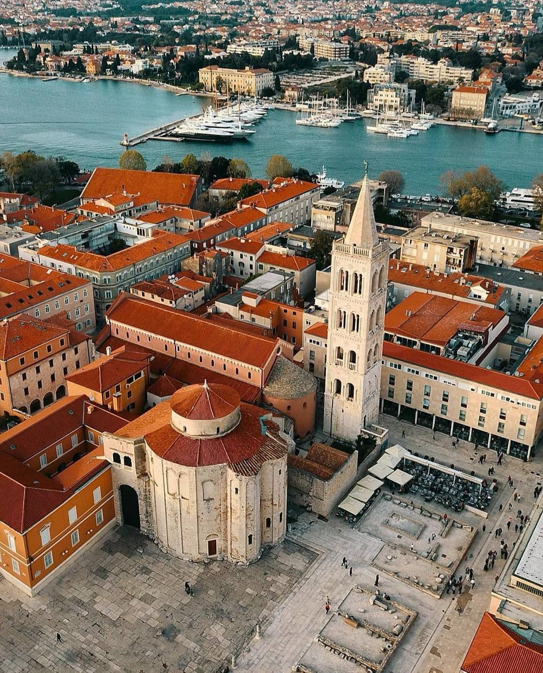 Zadar Region Tourist Board On Instagram Zadar Is A City With A 3 000 Year History And Been Recognised For Its Inte Zadar Historical Monuments Tourist Board