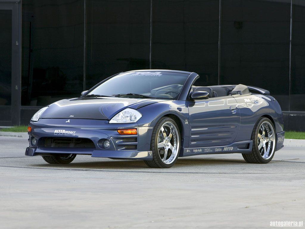 Mitsubishi eclipse spider i don t care if you are a import you are in