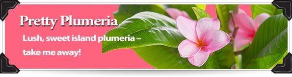 Pretty Plumeria Paisley's Pick May 2014 Lush sweet island Plumeria ~ Take me away! Available in 3.75oz jar $8 www.sprinkledpz.com #Sprinkles #PinkZebra #HomeFragrance #Plumeria #scent #HomeBusinessOpportunity