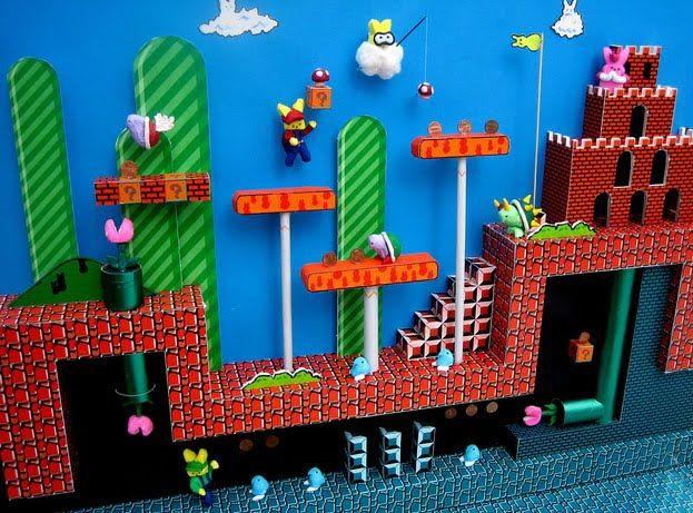 Peeps Diorama Easter Super Mario Peeps Mario Bros
