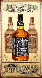Plaque publicitaire Calendrier JACK DANIELS calendrier plaque pub ...