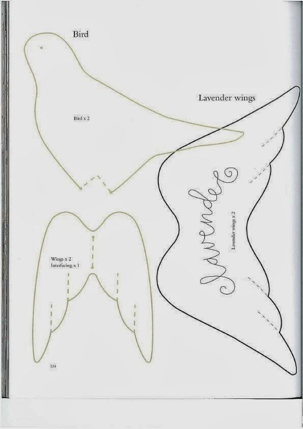 Pin by לילי חורי on ציפורים | Pinterest | Costura, Molderia and Muñecas
