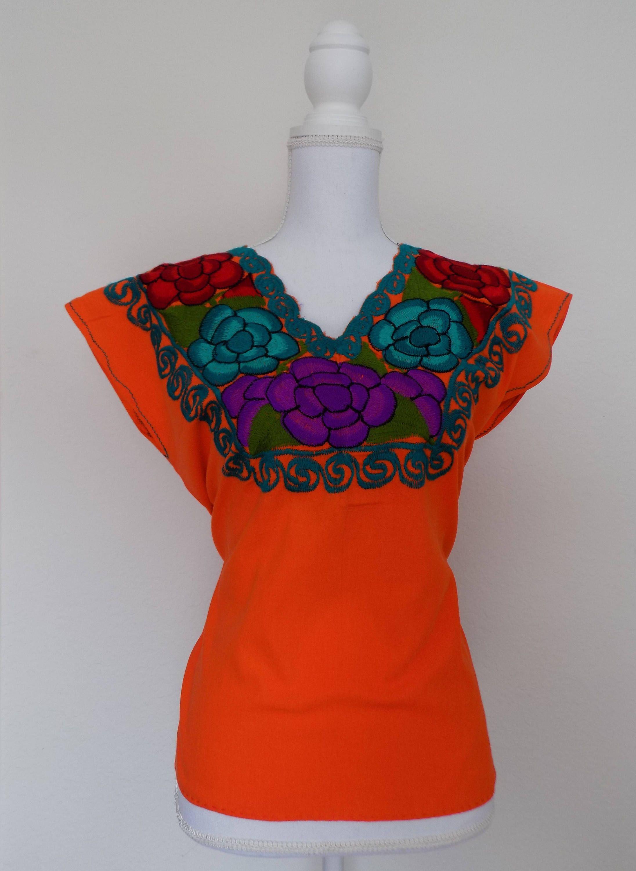 fa48e2365 Mexican Embroidered Blouse Uk