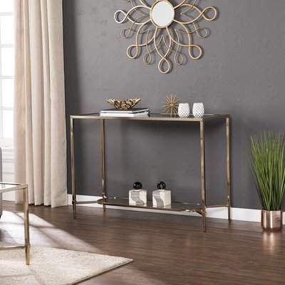 Photo of Mercer41 Miyashiro Console Table | Wayfair