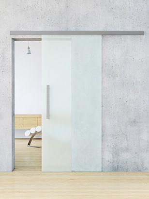 Schiebetür glas  Schiebetür aus Glas lebo | Türen | Pinterest | Glas, Türen und Flure