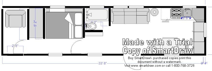 Tiny House On Wheels Plans tiny houses on wheels plans for floor nice and simple design this could be an idea for making your own home Tiny Houses On Wheels Floor Plans Google Search