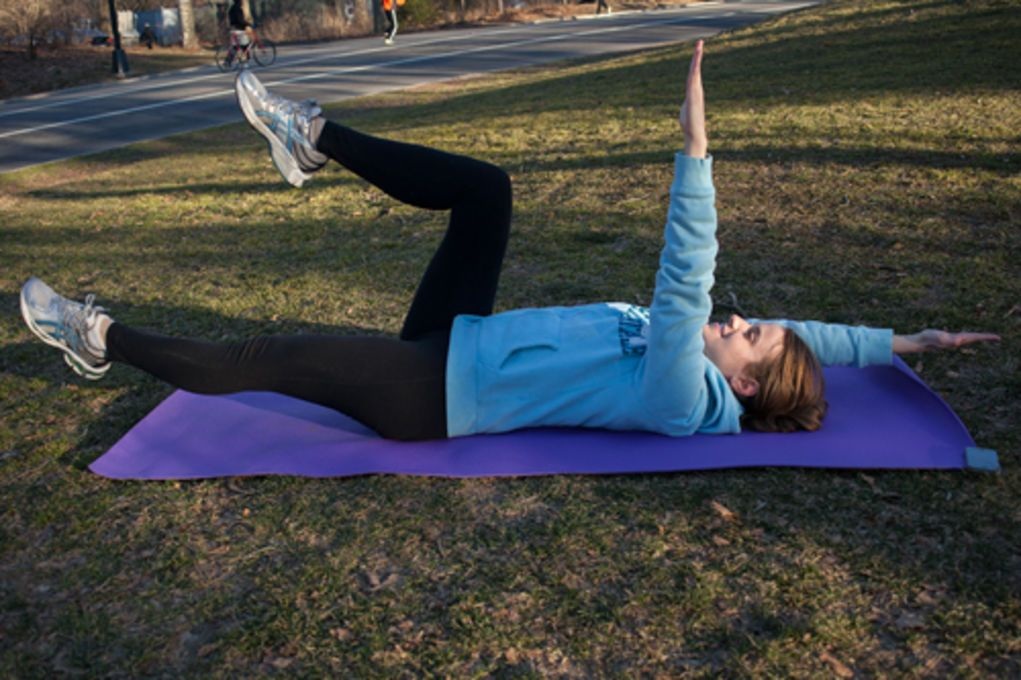 No crick crunches ab exercises that save your neck abs