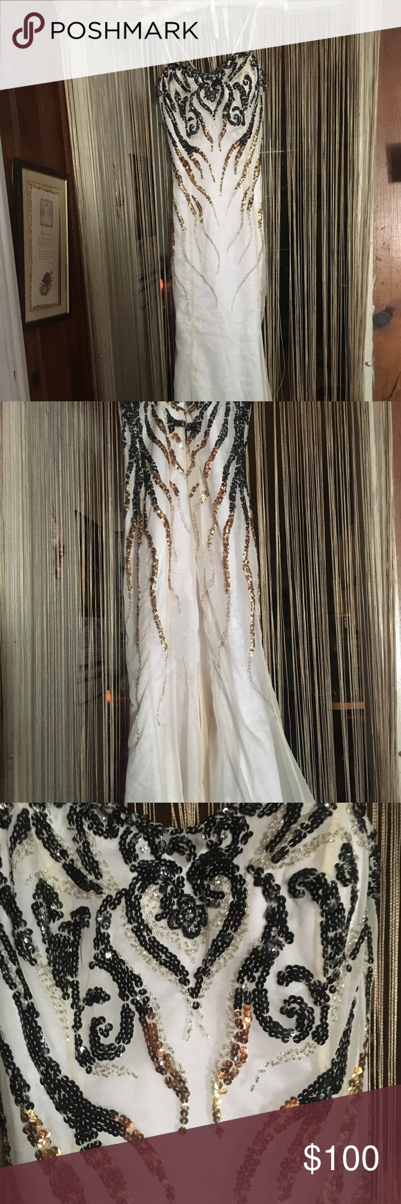 Firm white mermaid dress for wedding and prom my posh closet