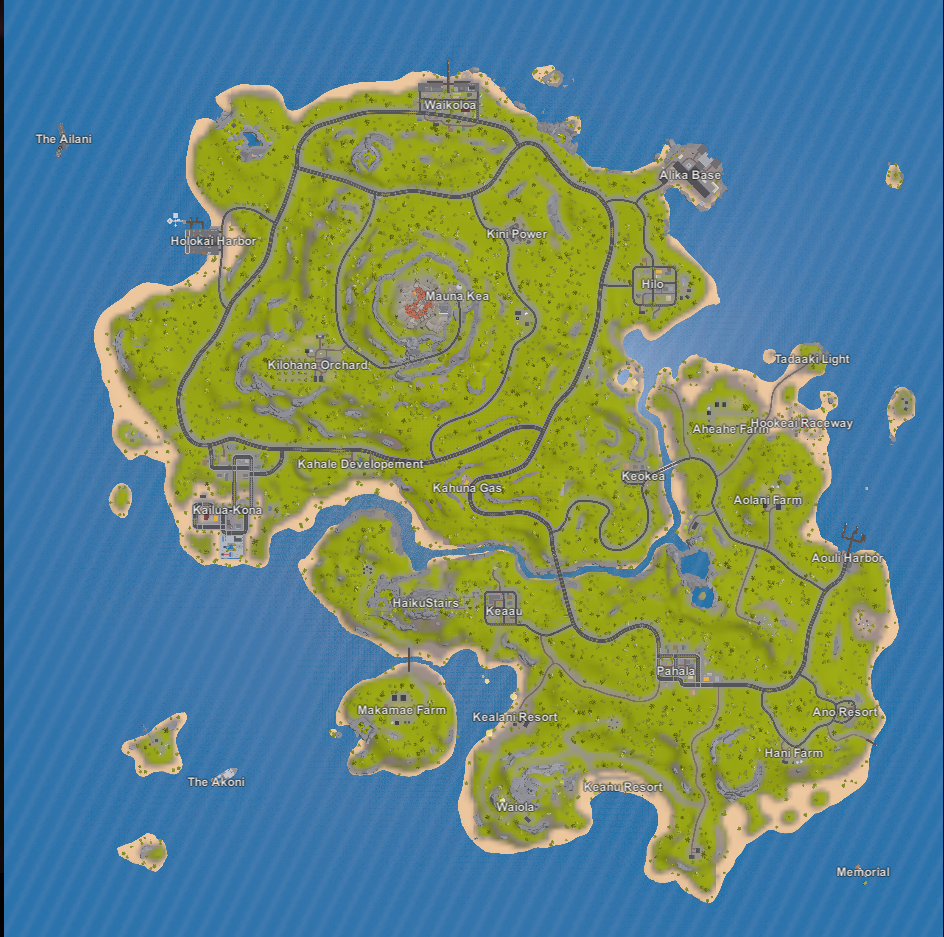 unturned hawaii map - Google Search | Level Designs