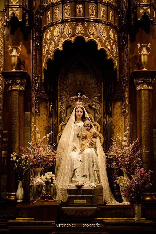 Iglesia De La Virgen De La Buena Dicha Virgen De La Merced Virgen De Las Mercedes Madrid Ciudad Las Mercedes