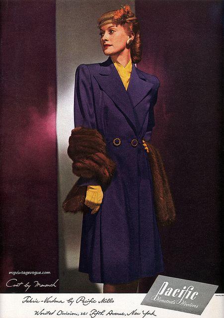 Beautiful Purple Coat. (1944)