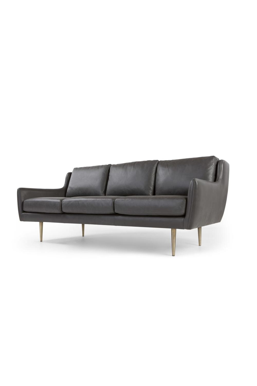 Made Sofa Grau 3 Sitzer Sofa Sofa Sofas
