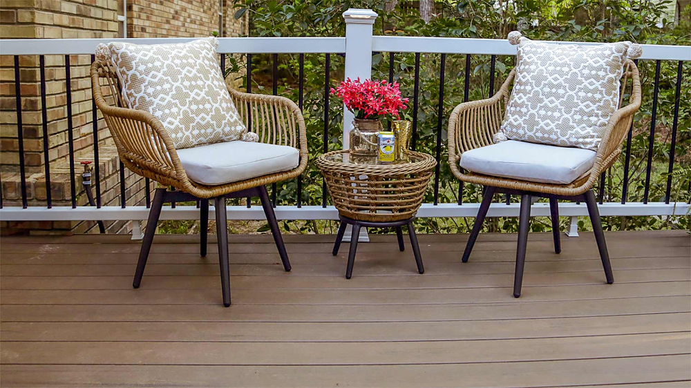 How To Protect Composite Decking From Winter Damage Today S Homeowner Composite Decking Outdoor Deck Furniture Deck Furniture