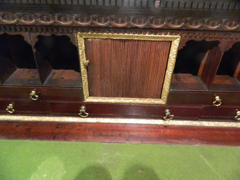 Best Circa 1825 English Mahogany Butlers Desk Modern Desk Desk Double Doors 640 x 480