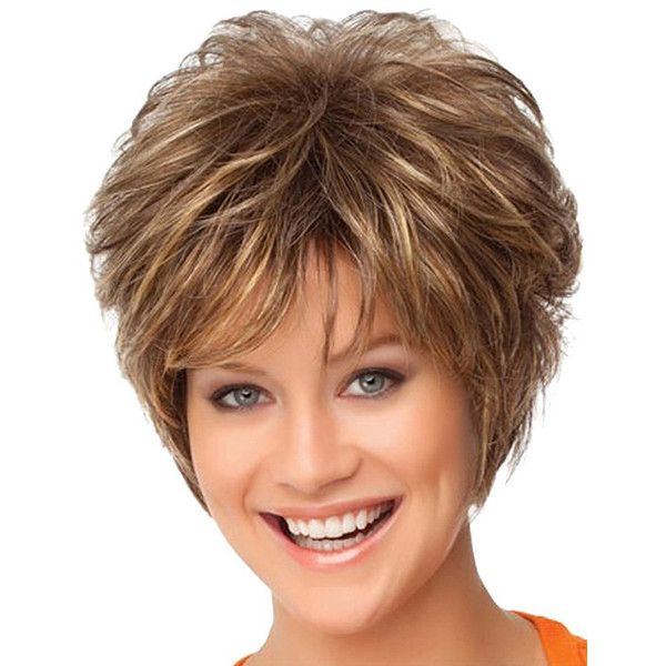 hair styles for big faces inclined wavy synthetic hair wig 4312