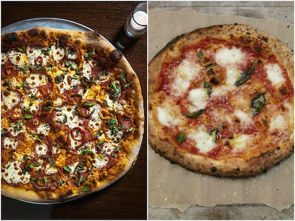 7 Healthier New York City Pizza Places You Ve Got To Try Well Good New York Food Vegetarian Travel Pizza Place