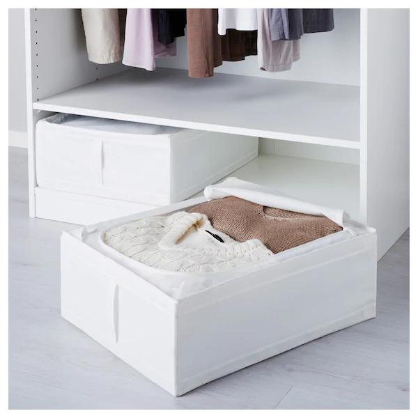 Skubb Custodia Bianco 44x55x19 Cm Ikea It Idee Ikea Organizzazione Delle Idee Biancheria Da Letto