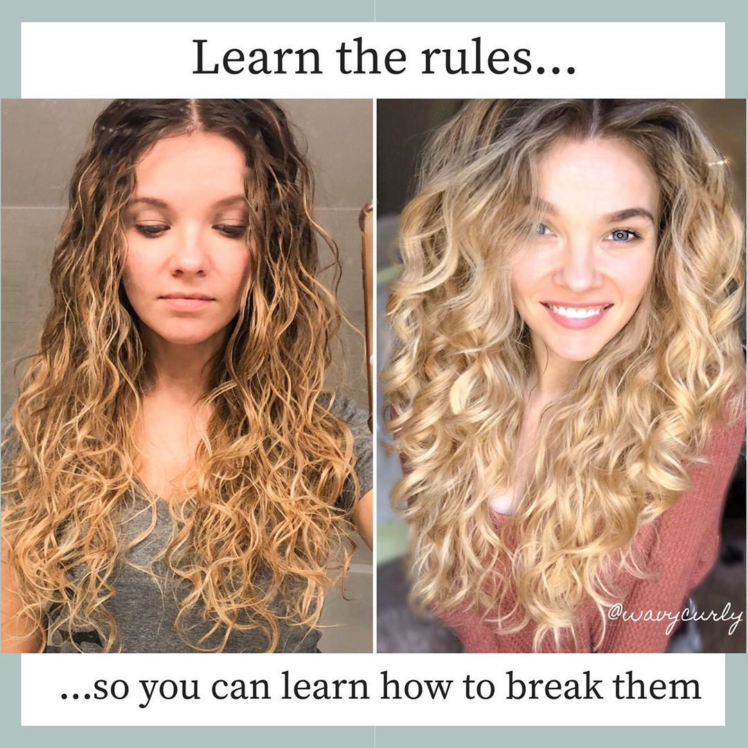 Pin On Curly Girl Method Healthier Hair Naturally Wavy