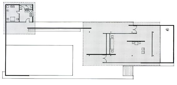 mies van der rohe barcelona pavilion plan referencias pinterest. Black Bedroom Furniture Sets. Home Design Ideas