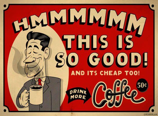 Hmmmmmm This Is So Good Vintage Coffee Coffee Humor