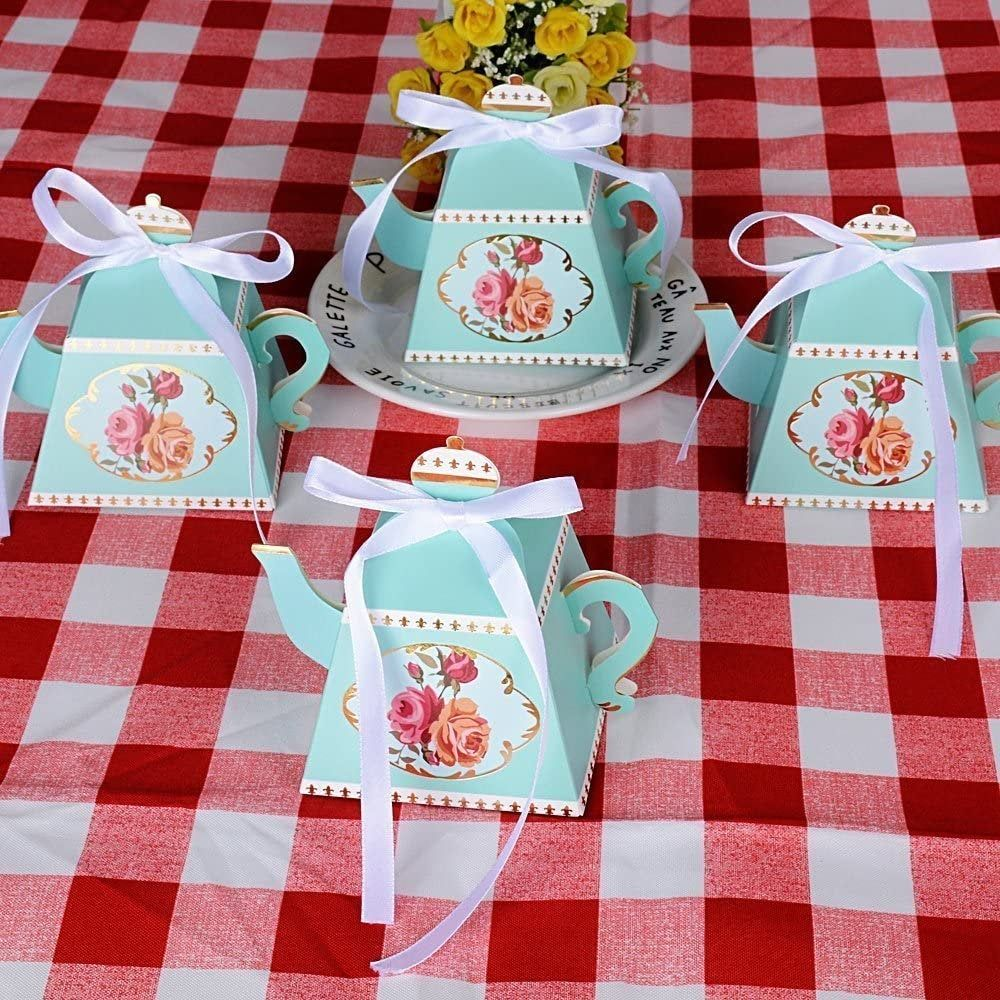 Alice In Wonderland Tea Party Favor Boxes Tea Pot Favor Etsy Baby Shower Favor Boxes Tea Party Favor Box Tea Party Favors