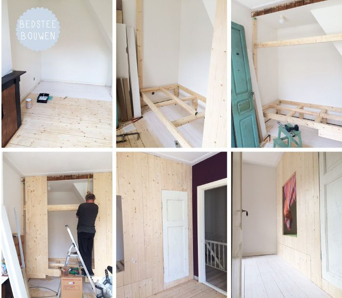 Bedstee bouwen kinderkamer kinderkamerstylist kamer flo pinterest jordi y bebe - Jaar oude kamer van de jongen ...