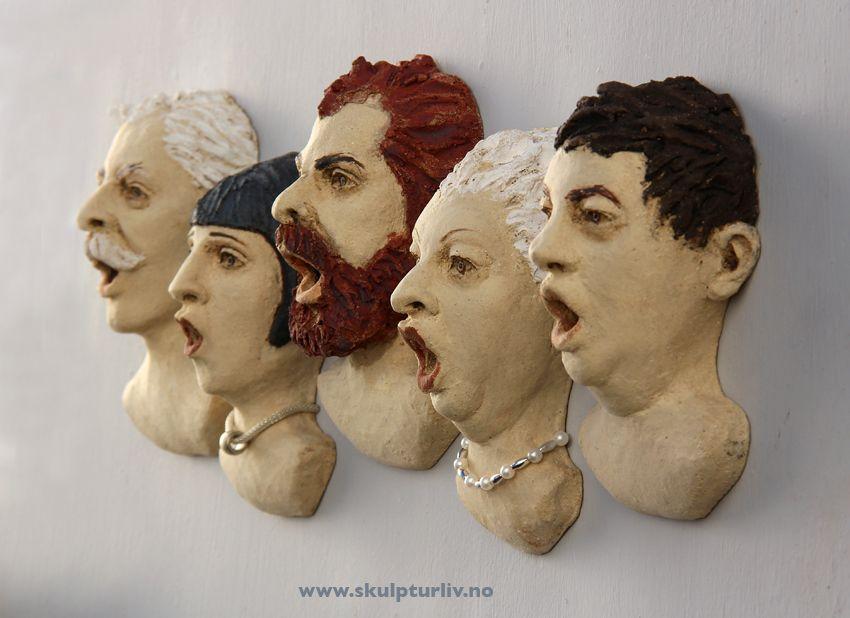Skulpturliv.no - Folk