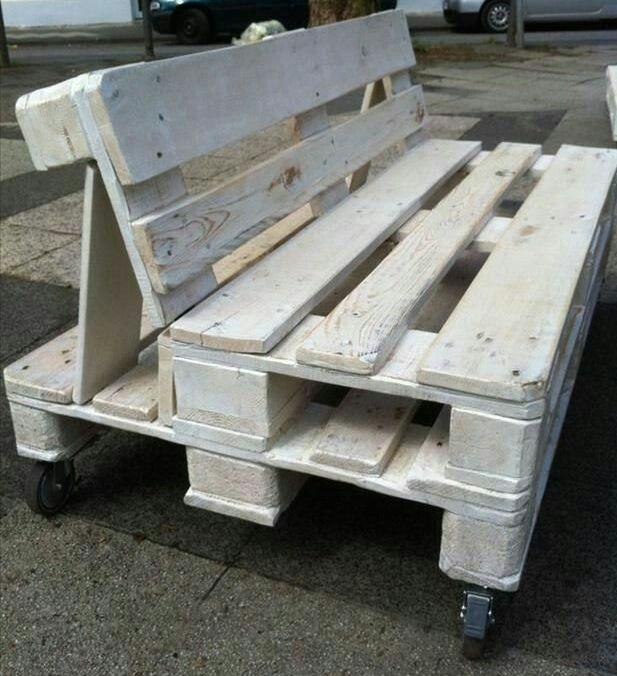 Dyi wooden pallet balcony furniture