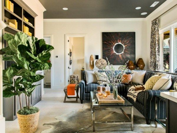 2016 Hgtv Smart Home Paint Colors Media Room Sherwin