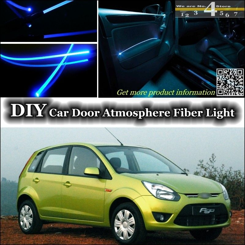 For Ford Figo Ikon Hatch Interior Ambient Light Tuning