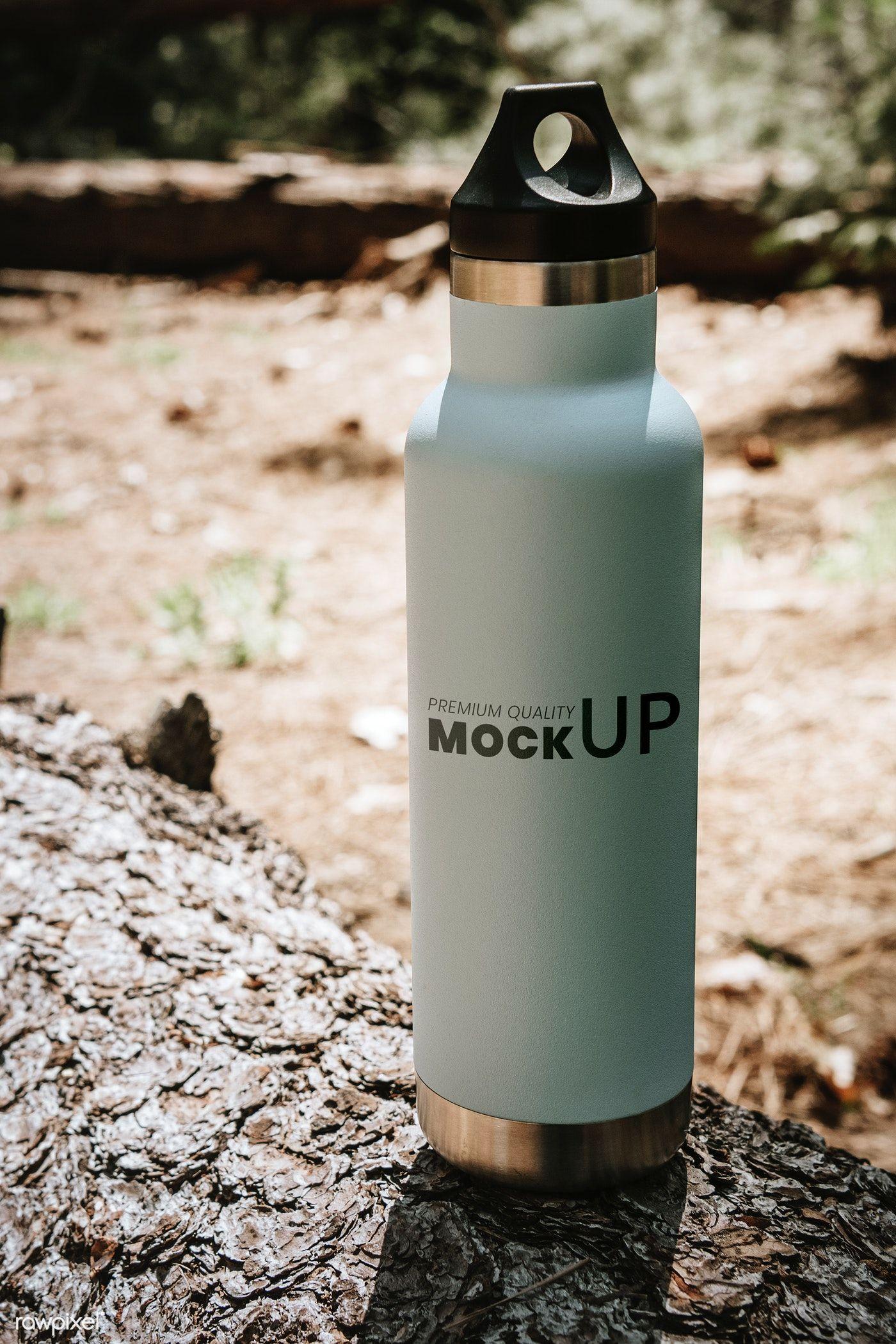 Download Download Premium Psd Of Water Bottle Mockup In The Forest 1221380 Bottle Mockup Water Bottle Bottle