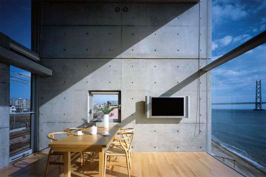 4x4 house by tadao ando architecture pinterest d coration int rieure int rieur et d corations. Black Bedroom Furniture Sets. Home Design Ideas