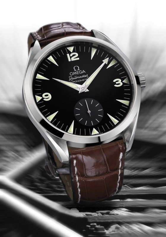 Omega Railmaster XXL got this... absolutely awesome time piece.