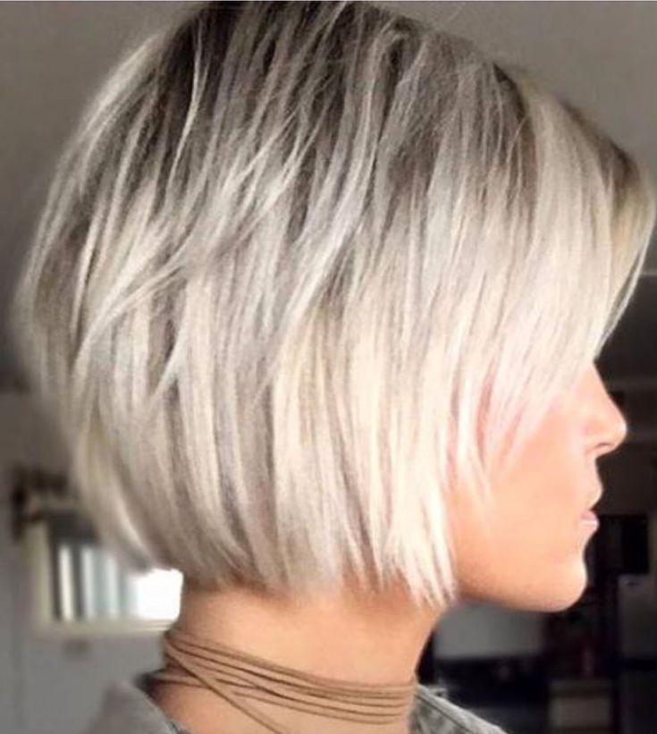 Long Bob Bob Long Stufig Haarschnitt Ideen Frisuren Bob Feines Haar Bob Frisur