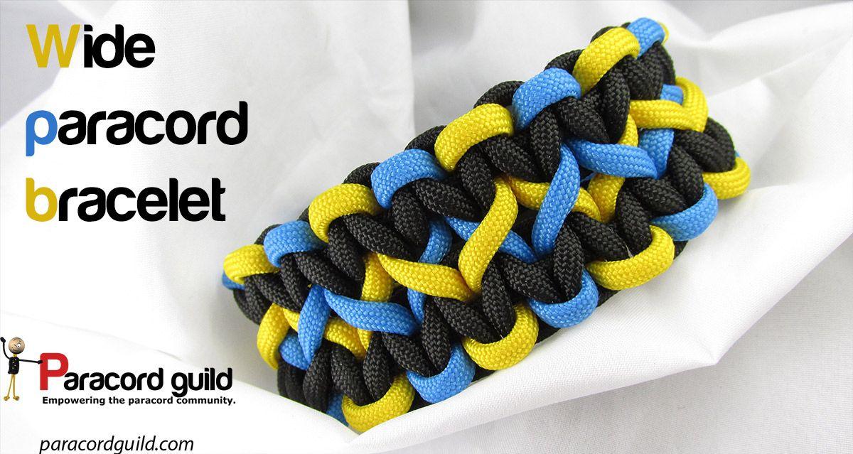 How To Make A Wide Paracord Bracelet Paracord Bracelets