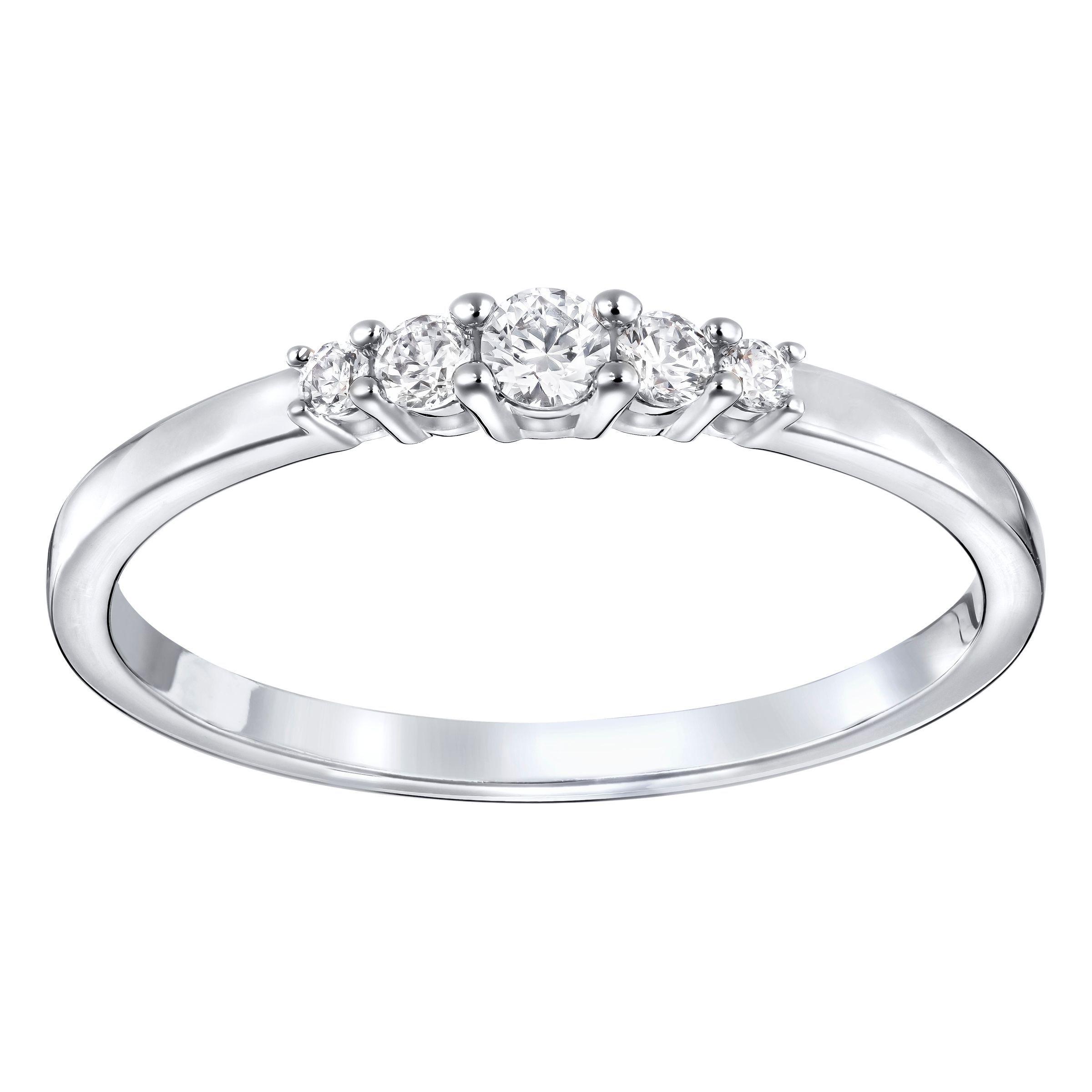 Buy Swarovski Frisson ring, Gold for £45.00 | Swarovski ...