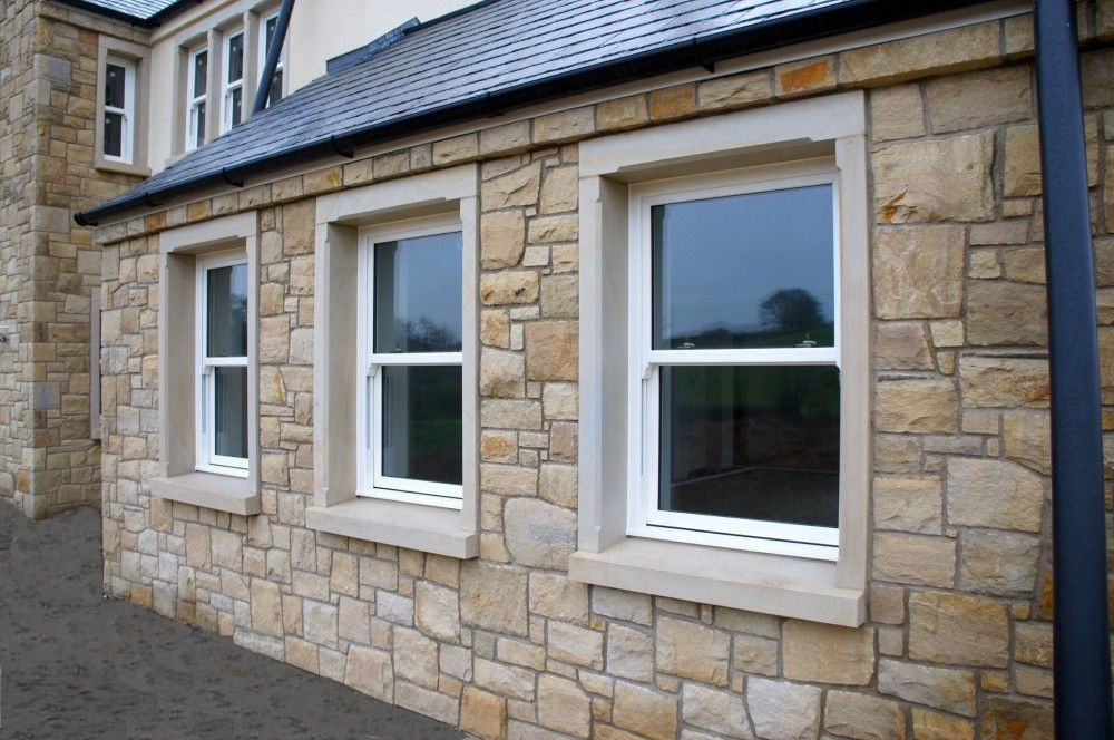 90 Donegal 10 Omagh Sandstone With Sandstone Window Door Surrounds Coolestone Stone Importers Suppliers Masonry Tyrone In 2020 Windows And Doors Masonry Omagh