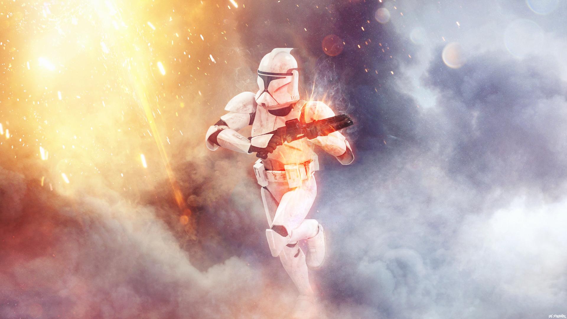 Pin By Sergio Vale On Star Wars Clone Trooper Star Wars Stormtrooper Widescreen Wallpaper